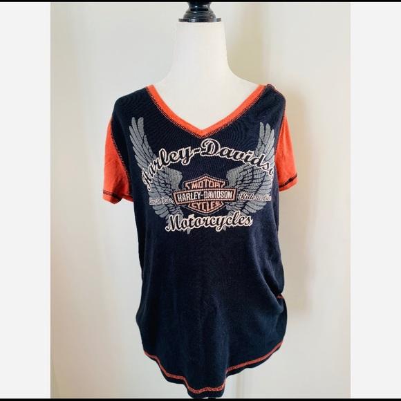 Harley-Davidson Women's T-Shirt Orange